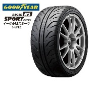 サマータイヤ GOODYEAR EAGLE RS SPORT S-SPEC 235/45R17 93W 乗用車用