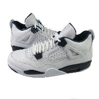 "Jordan Retro 4 ""Columbia""メンズ White/Legend Blue/Midnight Navy/Pure Platinum NIKE バッシュ ナイキ ジョーダン レトロ4"