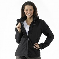 Quechua(ケシュア) ARPENAZ 300 JACKET WOMEN M TRUE BLACK 8127656-1207057