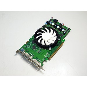 InnoVISION GeForce 9600GT 512MB DVIx2/TV-out PCI Express I-9600GTI-H5GTCD【中古】【全品送料無料セール中!】