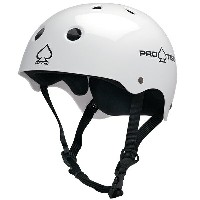 【PRO-TEC プロテック】CLASSIC SKATE(GLOSS WHITE)【2-STAGE】【HARDSHELL】Helmets スケートヘルメットスケートボード ス...