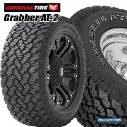 33x12.5R17LT GENERAL Grabber AT-2 WH 33-12.5-17LT オフロードタイヤ of