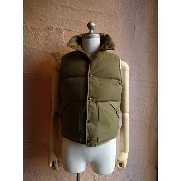 MR.FREEDOM×Sugarcaneシュガーケーン『MFSC OD BACK SATIN DOWN VEST』SC13170ダウンベストMADE IN USA149 OLIVE