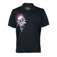 [セール] 【TATTOO GOLF(タトゥーゴルフ)】 ポロシャツBAD LIES High Performance DRI-MESH POLO (Men's Golf Polo-Shirt)...