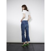 THE SHINZONE FLARE CROPPED JEANS シンゾーン【送料無料】
