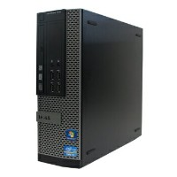 中古パソコン DELL Optiplex 7010SF Windows7 Pro Core i3 3.2GHz 4GB 新品SSD 256GB DVD-ROM リカバリディスク 【中古】...