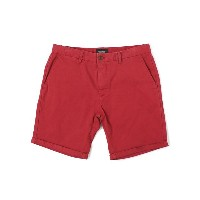【SALE】SCOTCH & SODA BASIC PEACH TOUCH TWILL CHINO SHORT【SC81152-51-26-RED】