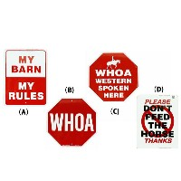 Farm/Stable signs 乗馬クラブ 馬の標識/乗馬用品