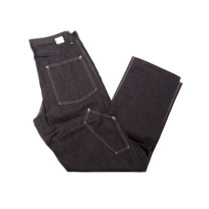 【期間限定30%OFF!】POST OVERALLS(ポストオーバーオールズ)/#2307 DELAWARE PAINTER PANTS/JAPAN COVERT/grey