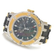 インビクタ 時計 インヴィクタ メンズ 腕時計 Invicta Mens Reserve Specialty Subaqua Swiss GMT Black MOP Dial SS & Rubber...