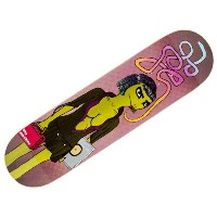 【トイマシーン デッキ】TOY MACHINE Deck BENNETT GOTH GIRL 8.25x32.25