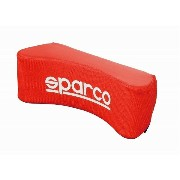 SPARCO(スパルコ)★ネックピロー★RED(レザー)★SPC4007