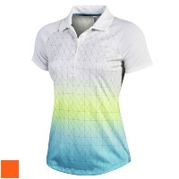 Under Armour Ladies Nassau Print Polo Shirts【ゴルフ レディース>トップス】