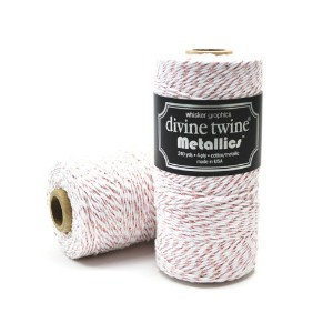 Whisker Graphics Divine Twine シングルスプール [ローズゴールドメタリック] 約219m / Bakers Twine Single Spools Rose Gold...