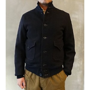 FREEWHEELERS フリーホイーラーズ TYPE A-1 CIVILIAN CIVILIAN MILITARY STYLE CLOTHING HEAVY WEIGHT WOOL MELTON