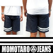 《桃太郎JEANS》10.5oz出陣DENIM SHORTS Lot.3103SP/MOMOTARO JEANS Made in Japan*送料無料 サマーギフト♪