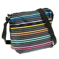 レスポートサック バッグ LESPORTSAC 7562 D435 SMALL CLEO CROSSBODY HOBO ショルダーバッグ LESTRIPE BLACK【new0703】