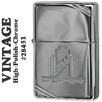 ZIPPO(ジッポーライター)A Weeks Trial Vintage High Polish Chrome#28451 zippo