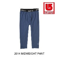 2014 BURTON バートン レイヤー MIDWEIGHT PANT BLUE LAKE