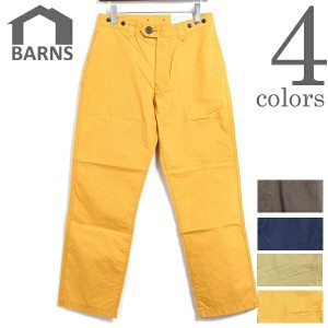 BARNS OUTFITTERS バーンズ アウトフィッターズ 高密度 タイプライタークロス テーパード ロング パンツ TYPE WRITER CLOTH TAPERED LONG PANTS...