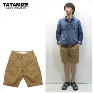 TATAMIZE(タタミゼ)FLIP CHINO SHORTS New Kahki