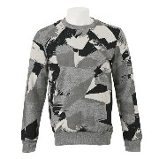 【PUMAウェア】 プーマ スウェット CAMO CREW SWEAT 570298-03 15FA 03MEDIUM GRAY H