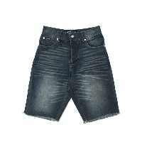【SALE】BORN FLY DENIM SHORT MD STONE.W