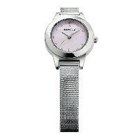 BERING Ladies Curving Mesh Frost flower(11125-009 ピンク×シルバー)