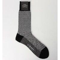 UAD H/TOOTH SOCKS【ユナイテッドアローズ/UNITED ARROWS】
