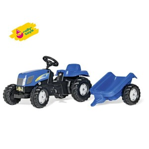Rolly Toys(ロリートイズ) ロリーキッズ ニューホランドキッズ はたらく車の乗用玩具 【楽ギフ_包装】 02P03Dec16