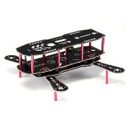HobbyKing Scimitar FPV 230mm Quad-Copter With Vibration Isolation and Integrated PDB