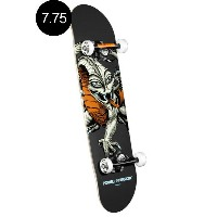 【POWELL PERALTA パウエル・ペラルタ】7.75in x 31.75in CAB DRAGON COMPLETE SKATEBOARD GRAYコンプリートデッキ(完成組立品...