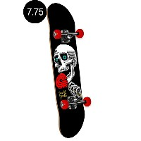 【POWELL PERALTA パウエル・ペラルタ】7.75in x 31.75in LOLLY POP BLACK COMPLETE ASSEMBLYコンプリートデッキ(完成組立品)スケートボード...
