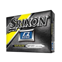 Srixon Q Star Tour Yellow Golf Balls【ゴルフ ボール】