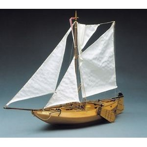 Mantua アーム82 ARM 82. Dutch Fishing model boat(781)