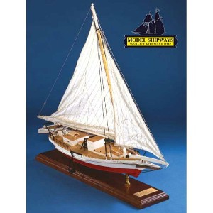 ModelShipways スキップジャック(Willie Bennett Chesapeake Bay Skipjack, 1:32 Scale) MS2032