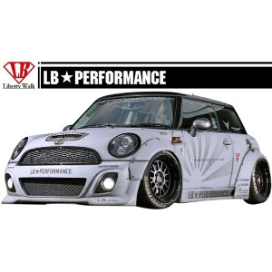 【M's】 MINI R56 LB☆STANCE エアロ サイド スカート // S スポイラー / BMW ミニ クーパー LB☆PERFORMANCE WORKS Cooper Body kit...