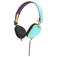 【送料無料】 SKULLCANDY [マイク付]ヘッドホン (Knockout Robin/Smoked Purple/Gold Mic3) J5AVGM396 1.3mコード[KNOCKOUTROB...