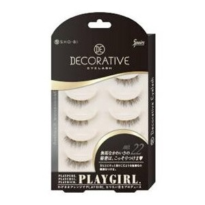 DECORATIVE EYELASH PLAY GIRL 上まつ毛部分用 No.22 SE85554