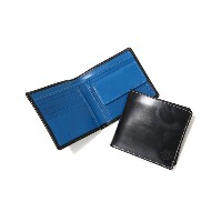 Whitehouse Cox (ホワイトハウスコックス) / NOTECASE WITH COIN CASE(HOLIDAYLINE) /全3色 (三つ折り財布 ウォレット ギフトラッピング可能)...