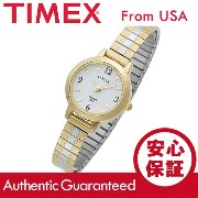 CARRIAGE BY TIMEX (キャリッジ バイ タイメックス) C7A261 CARRIAGE/キャリッジ 蛇腹ベルト ゴールド×シルバー レデ...