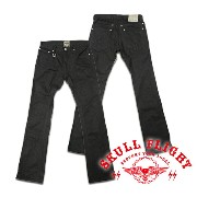 "【SKULL FLIGHT スカルフライト】ボトム/SS PANTS type6 TIGHT STRETCH PANTS ""BOOTS CUT"" ★送料・代引き手数料無料!REAL DEAL"