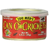 ZOOMED カン・オー ミニクリケット CAN O' MINI CRICKETS 35g 爬虫類 餌 エサ 缶詰