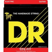 【 並行輸入品 】 DR Strings エレキギター - Tite-Fit Nickel Plated Half-Tite, .095-.044, HT-9.5