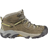 キーン KEEN メンズ ハイキング シューズ・靴【Targhee ll Mid Hiking Boot】Black Olive/Yellow