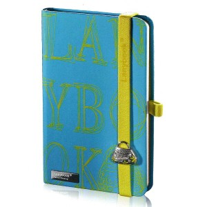 Lany book『4 Sexy Notes Only(Azzurro + Verde Mela)』A6サイズ【Made in italy】《送料無料》《後払い対応》【文房具 文具...