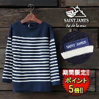 【SAINT JAMES】 NAVAL SWEATERS (14jl50-50162-1r) Men's & Lady's □ 05P03Dec16