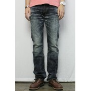 "ETERNAL (エターナル) ""53738"" 5POCKET DENIM PANTS (DARK INDIGO) 28 inch"