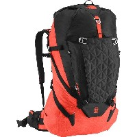 (取寄)ノースフェイス コブラ 60 バックパック The North Face Cobra 60 Backpack Tnf Black/Acrylic Orange Heather