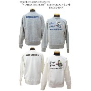 """BUZZ RICKSON'S バズリクソンズ BUZZ RICKSON'S ×PEANUTS""""NUMBER ONE PILOT"""" SET-IN CREWスウェット2015年秋冬モデルBR67173-15AW"""